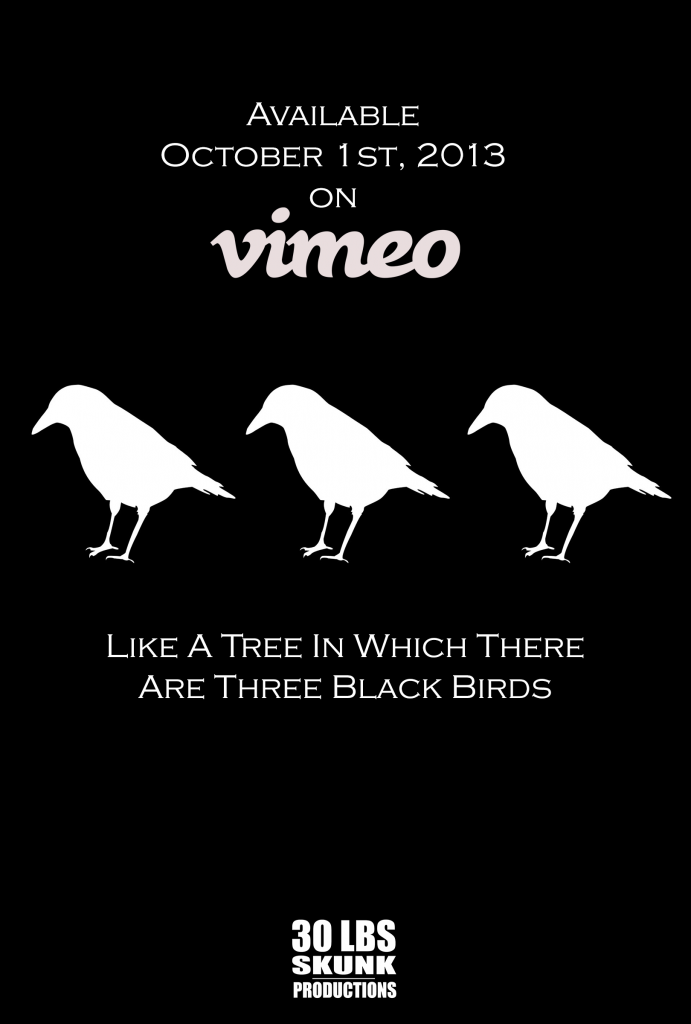 3 black birds release-date-poster
